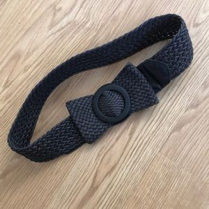 Accessories - Woven Bow Belt